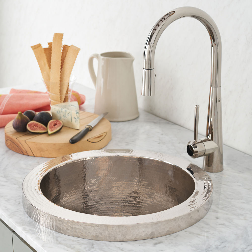 Native Trails CPS816 Mojito Bar & Prep Sink - Polished Nickel
