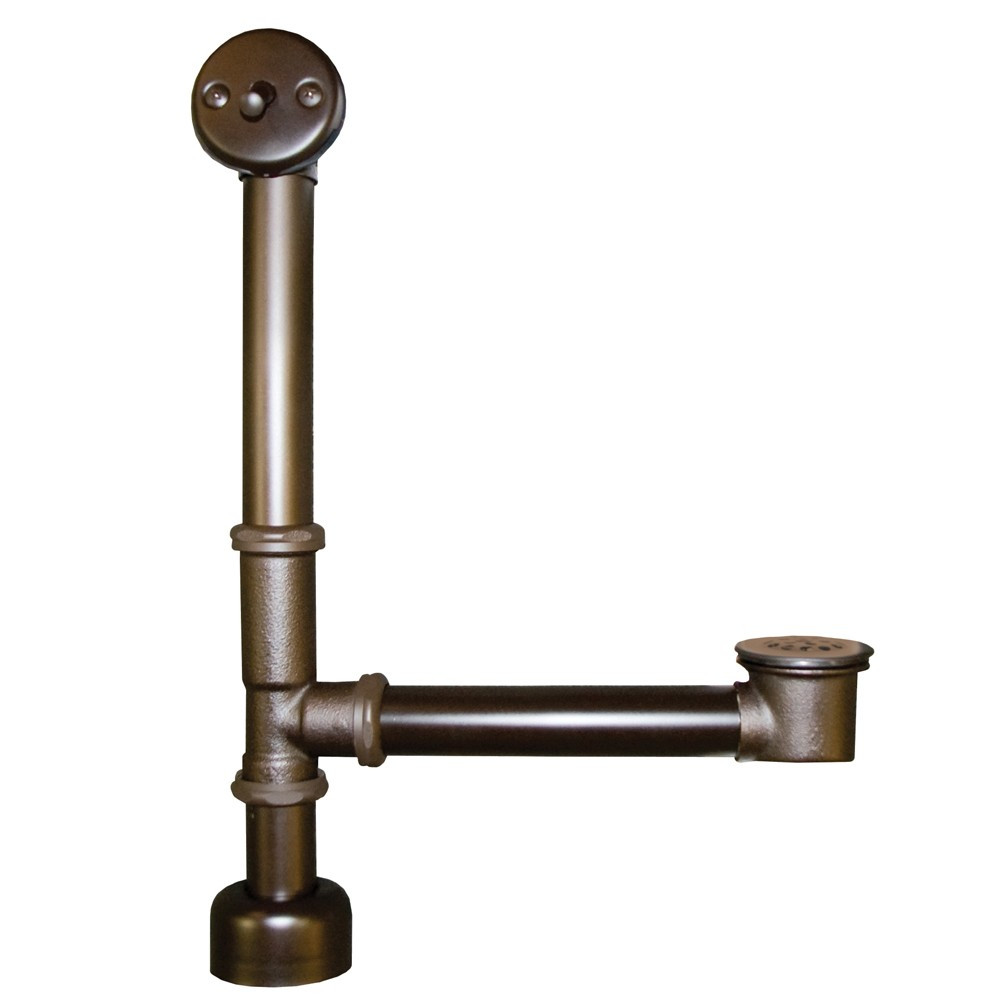 Native Trails DR280-ORB Trip Lever Bath Waste & Overflow for Aurora Bathtubs - Rubbed Bronze