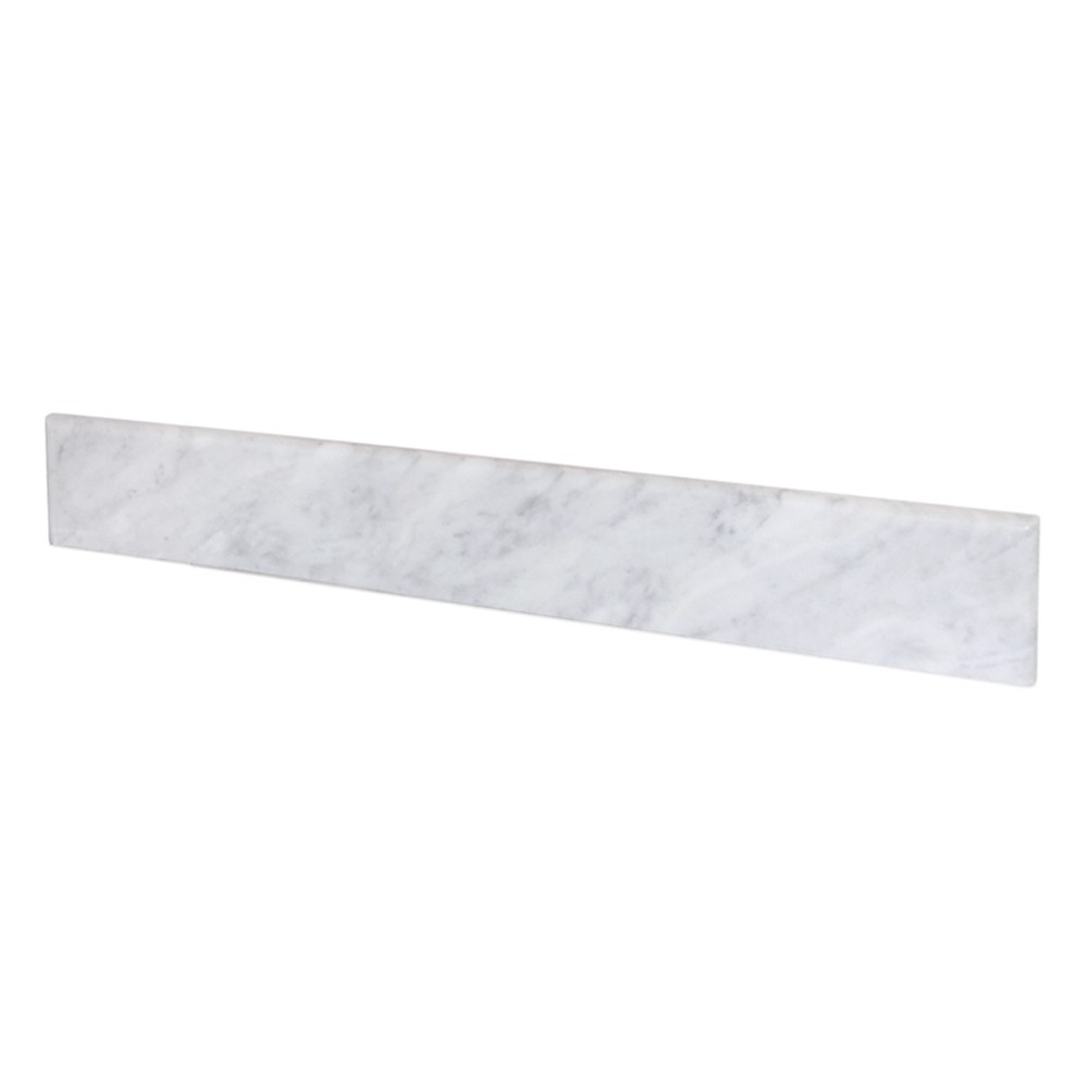 Native Trails VNTB306 Marble Backsplash Vanity Top - Carrara