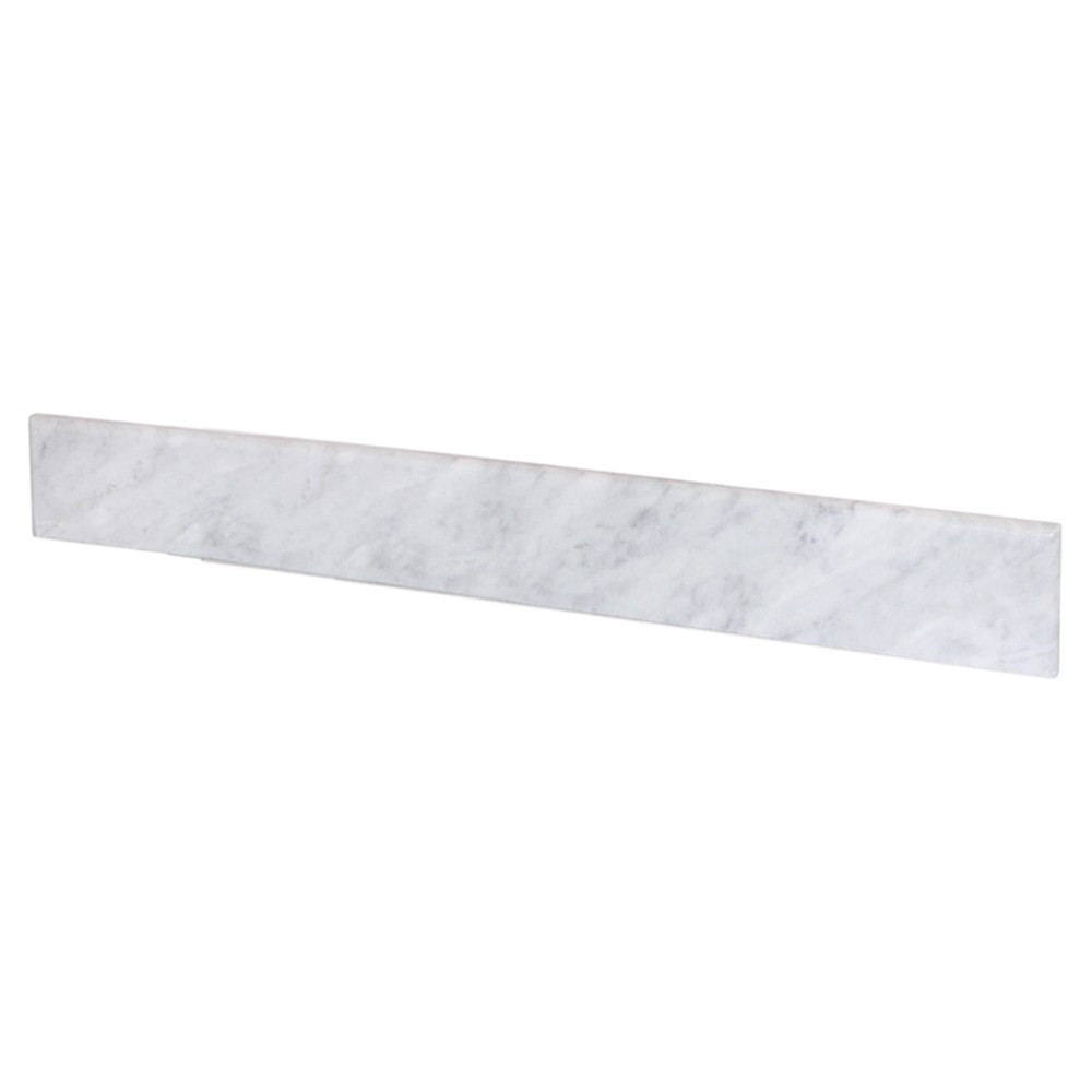 Native Trails VNTB366 Marble Backsplash Vanity Top - Carrara
