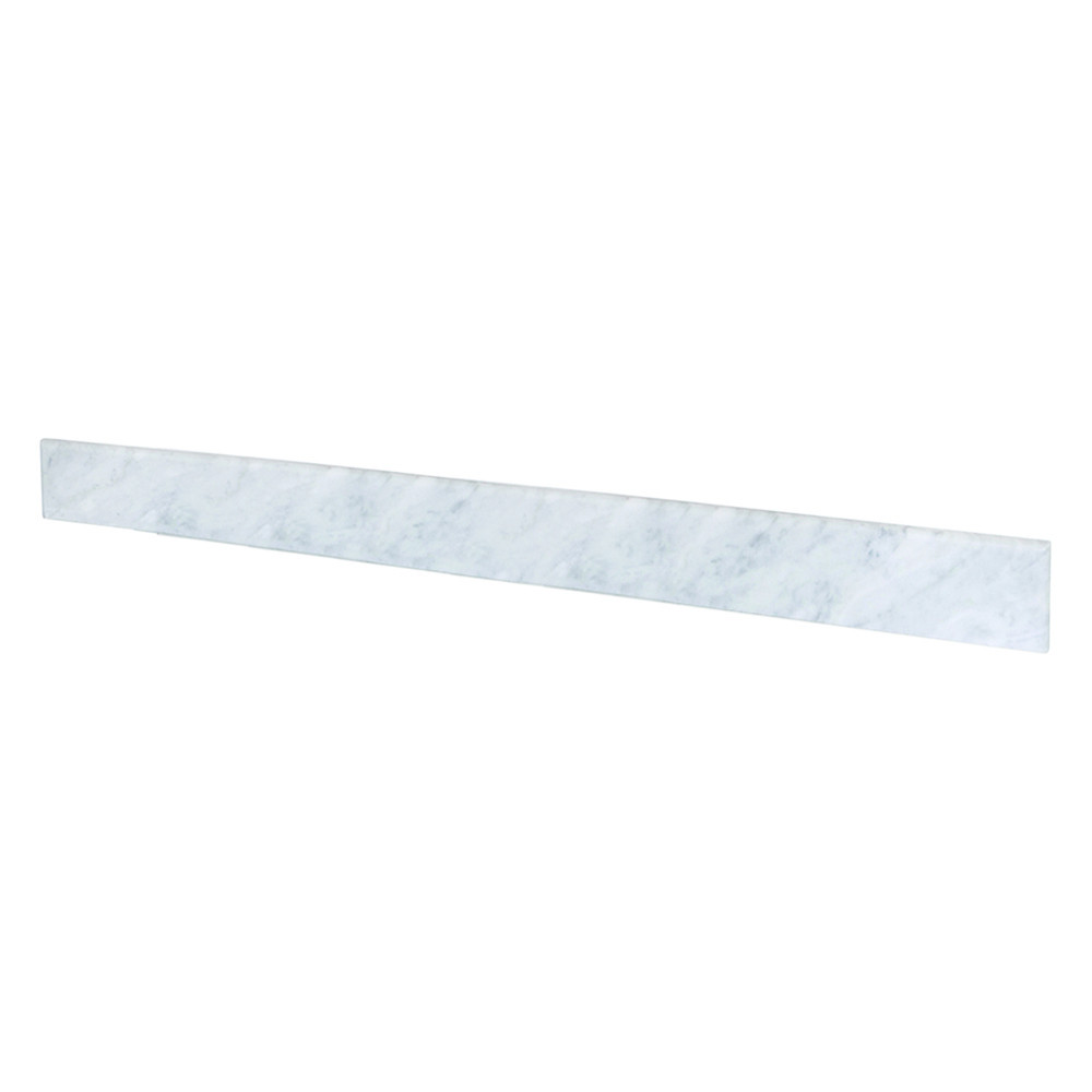 Native Trails VNTB486 Marble Backsplash Vanity Top - Carrara