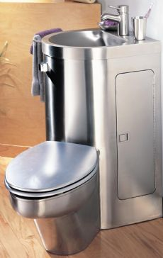Neo Metro 8960 Combination Toilet Washbasin 8960 Neo