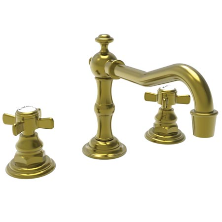 Newport Brass 1000/04 Fairfield Widespread Lavatory Faucet - Satin Brass (PVD)