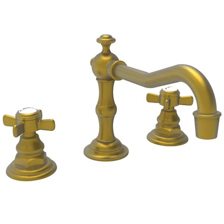 Newport Brass 1000/10 Fairfield Widespread Lavatory Faucet - Satin Bronze (PVD)