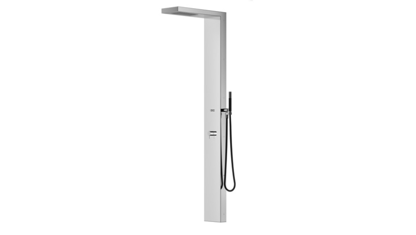 Outdoor Shower Company FTA-P22-CHS Single Supply Shower Panel