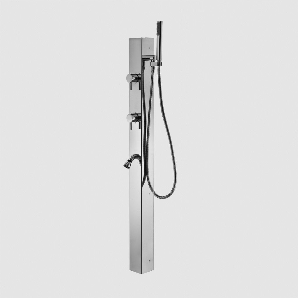 Outdoor Shower Company FTA-P9-C-FSHS Single Supply Shower