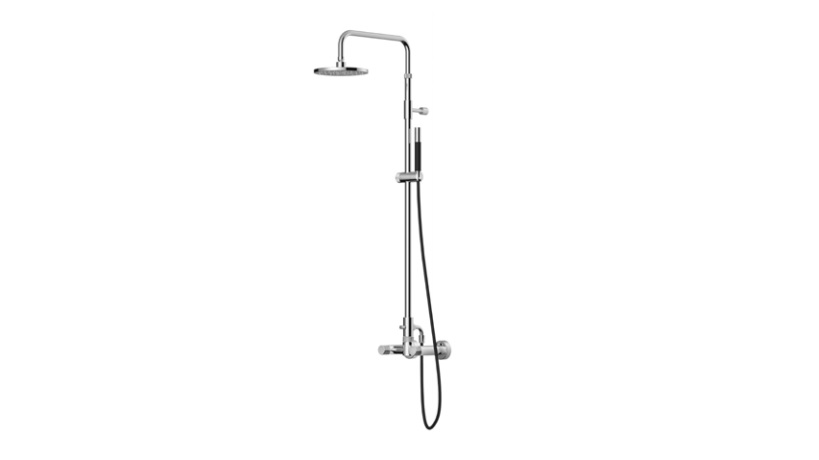 Outdoor Shower Company FTA-W50-HCHS Hot & Cold Shower Unit