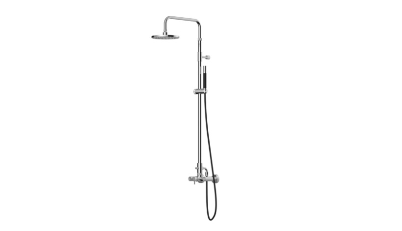 Outdoor Shower Company FTA-W53-HCHS Hot & Cold Shower Unit