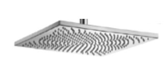 "Outdoor Shower Company GLSQA-13-M 13"" Square Shower Head"
