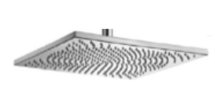 "Outdoor Shower Company GLSQA-13-S 13"" Square Shower Head"