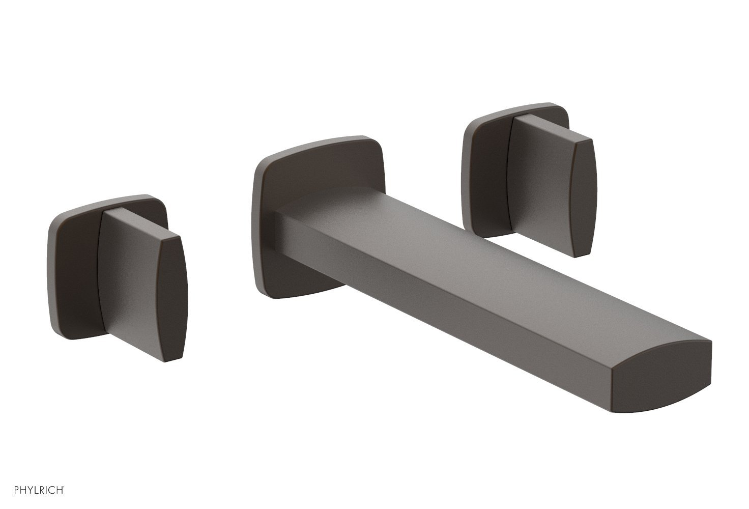 Phylrich 181-56-10B RADI Wall Tub Set - Blade Handles - Oil Rubbed Bronze