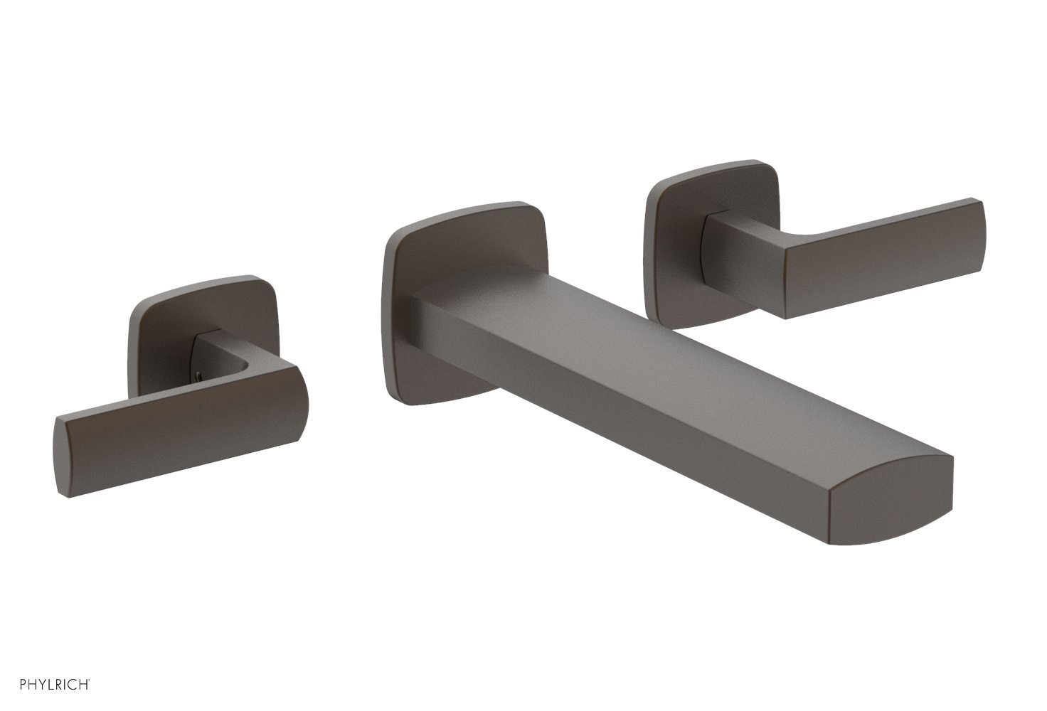Phylrich 181-57-10B RADI Wall Tub Set - Lever Handles - Oil Rubbed Bronze