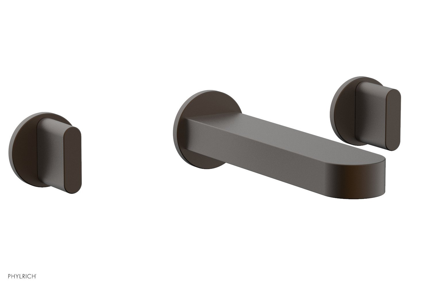 Phylrich 183-11-10B ROND Wall Lavatory Set - Blade Handles - Oil Rubbed Bronze