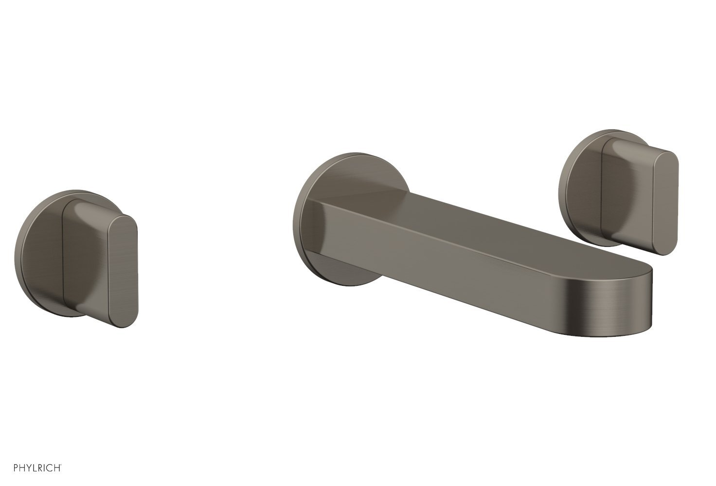 Phylrich 183-11-15A ROND Wall Lavatory Set - Blade Handles - Pewter