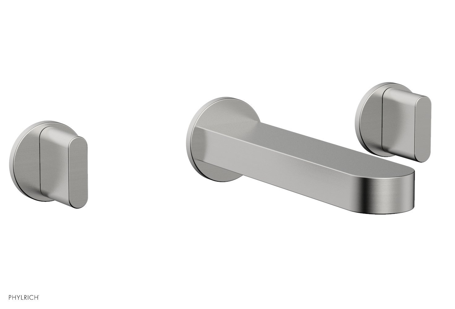 Phylrich 183-11-26D ROND Wall Lavatory Set - Blade Handles - Satin Chrome