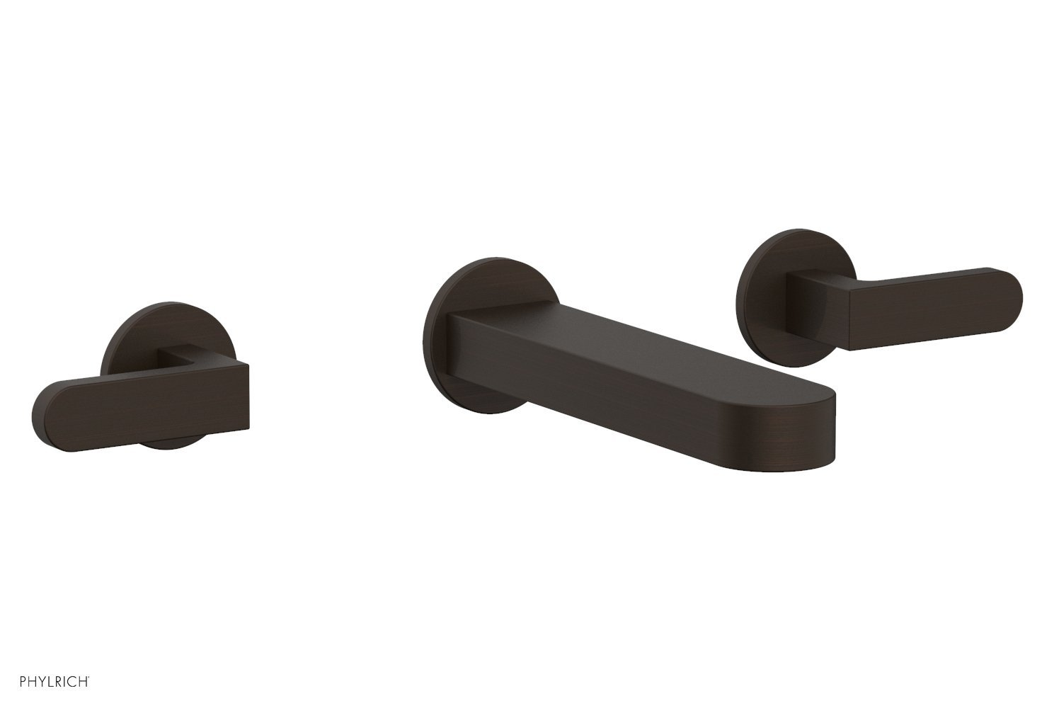 Phylrich 183-12-11B ROND Wall Lavatory Set - Lever Handles - Antique Bronze