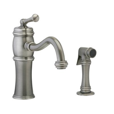 DK205S Phylrich Universal Single Handle Kitchen Faucet with Side