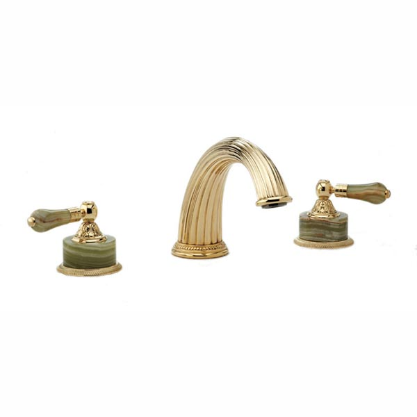 K1240P Phylrich Versailles Double Handle Roman Tub Filler Faucet