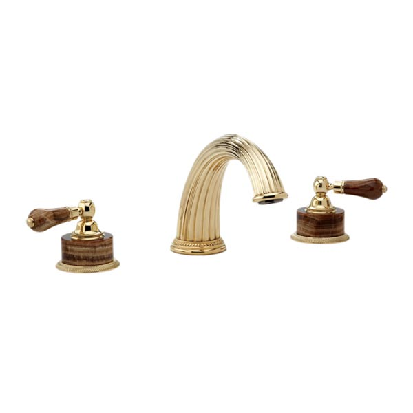 K1271P Phylrich Regent Double Handle Roman Tub Filler Faucet - M