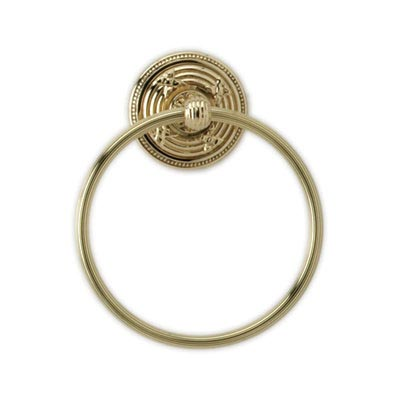 KR40 Phylrich Ribbon & Reed Towel Ring
