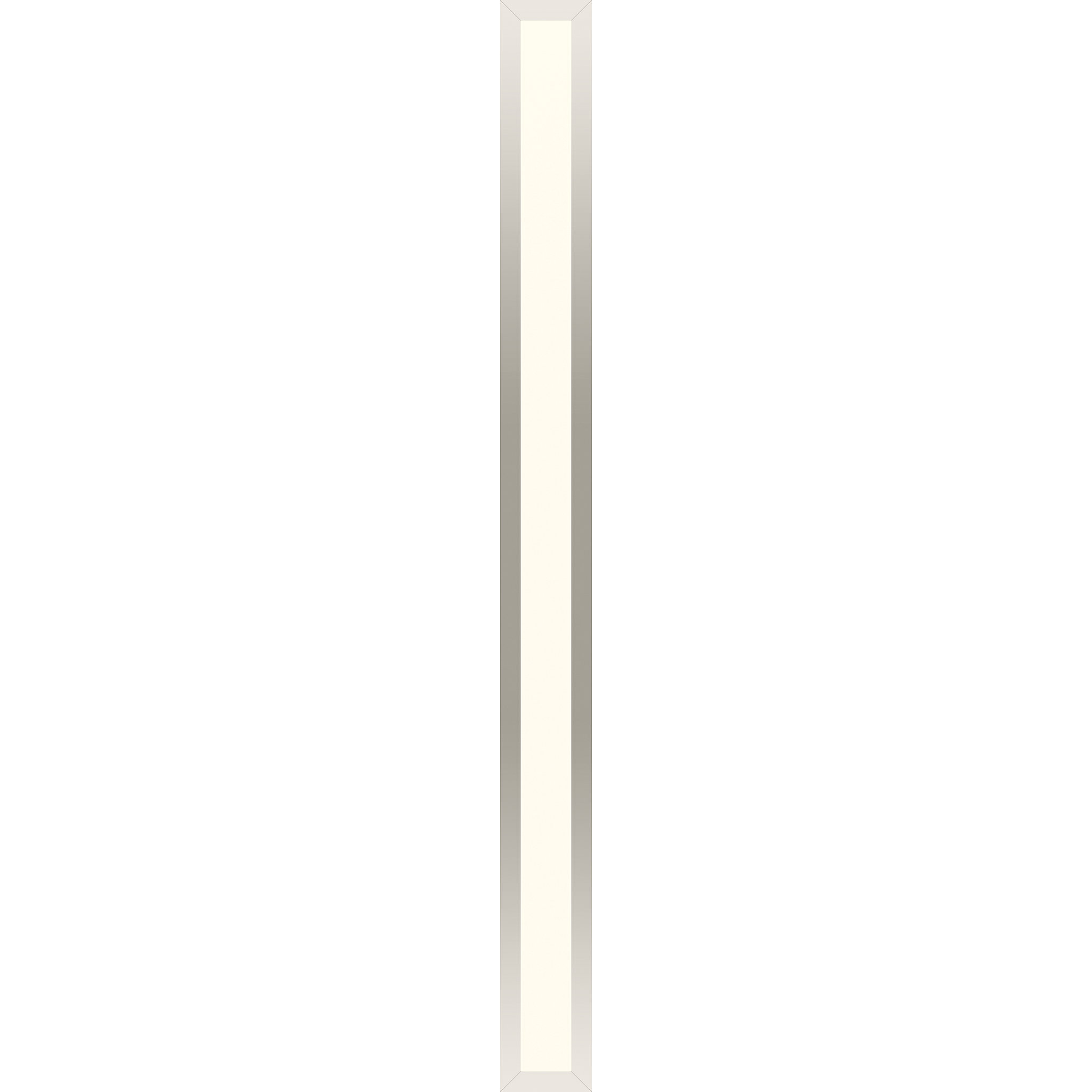 "Robern PL3.540TLSC77DV Profiles Framed Lighting, 3-1/2"" x 40"" x 4-5/8"", Polished Nickel, Variable 2700K to 5600K Temperature (Wa"