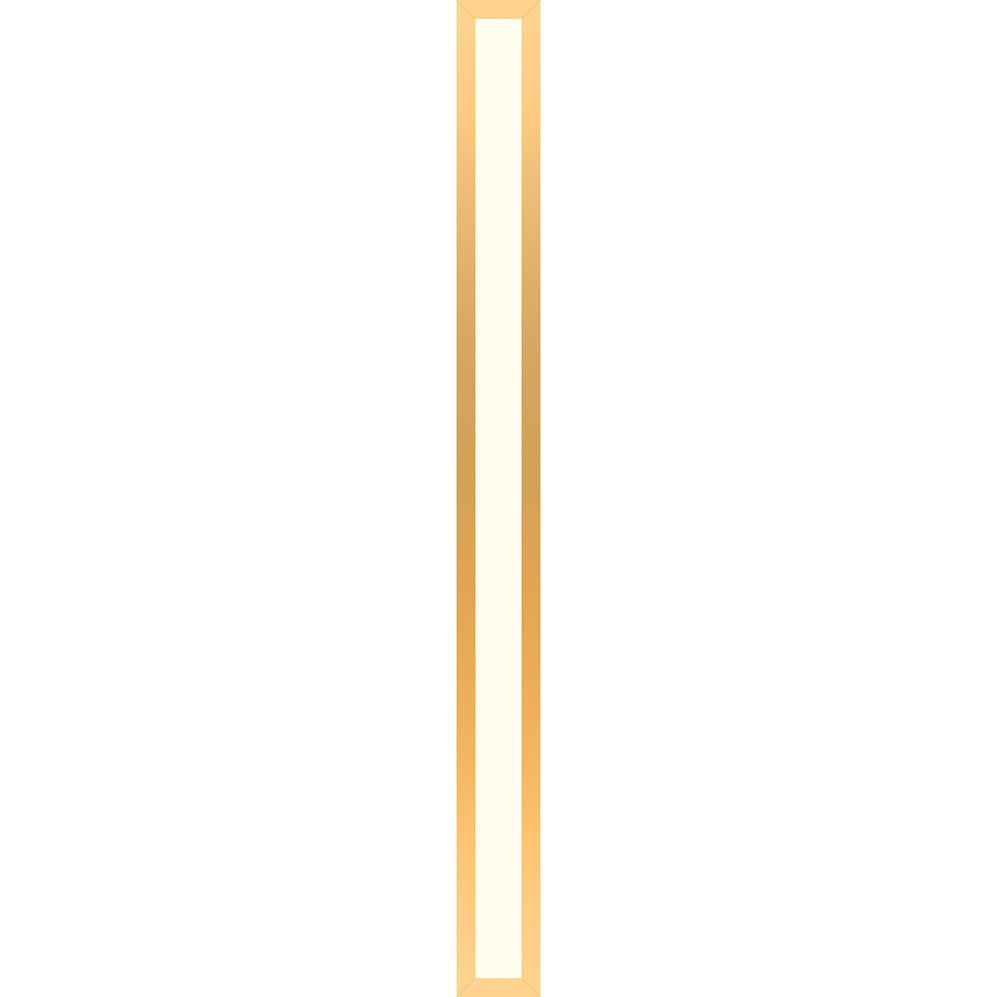 "Robern PL3.540TLSC82DV Profiles Framed Lighting, 3-1/2"" x 40"" x 4-5/8"", Matte Gold, Variable 2700K to 5600K Temperature (Warm to"
