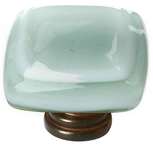 "Sietto K-103-ORB Stratum Spruce Green 1 1/4"" Knob - Oil Rubbed Bronze"