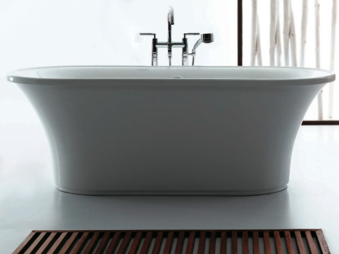 "Slik Portfolio 69FS29 Passion 68.87"" x 29.5"" Freestanding Bathtub in White"