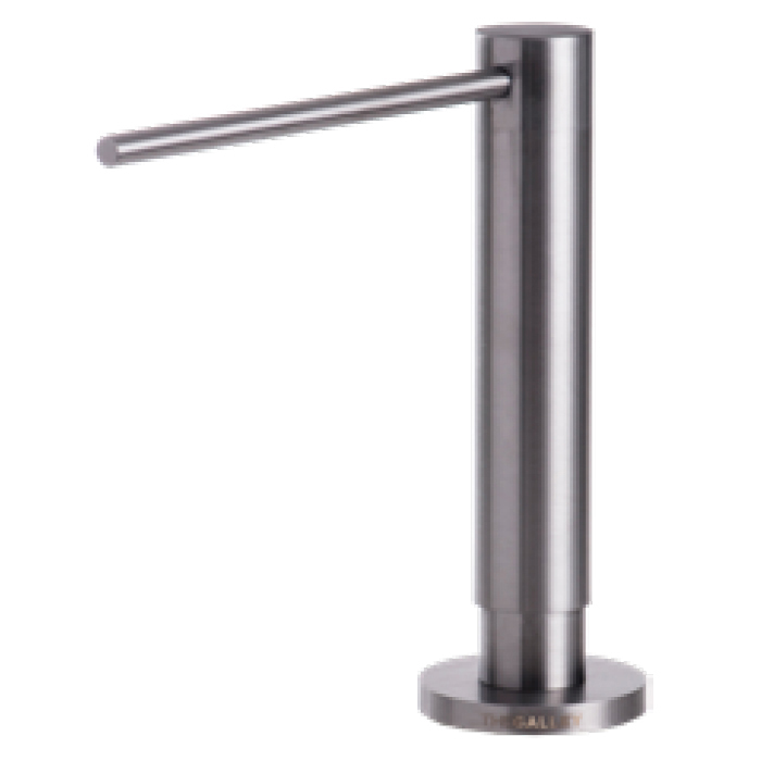 The Galley ISD 1 GSS Galley Soap Dispenser - PVD Gun Metal Gray