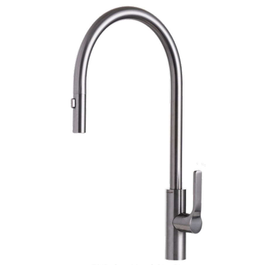 The Galley IWT D GSS Galley Tap - PVD Gun Metal Gray