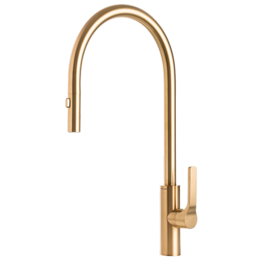 The Galley IWT D YSS Galley Tap - PVD Brushed Gold