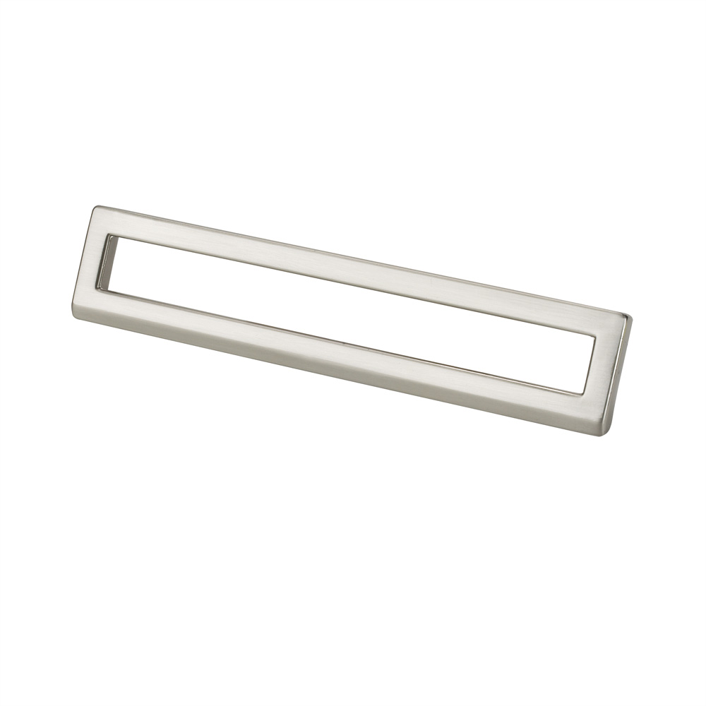"Topex Hardware 8-102216012834 Bent Rectangular Pull 5.03"" (C-C) - Satin Nickel"