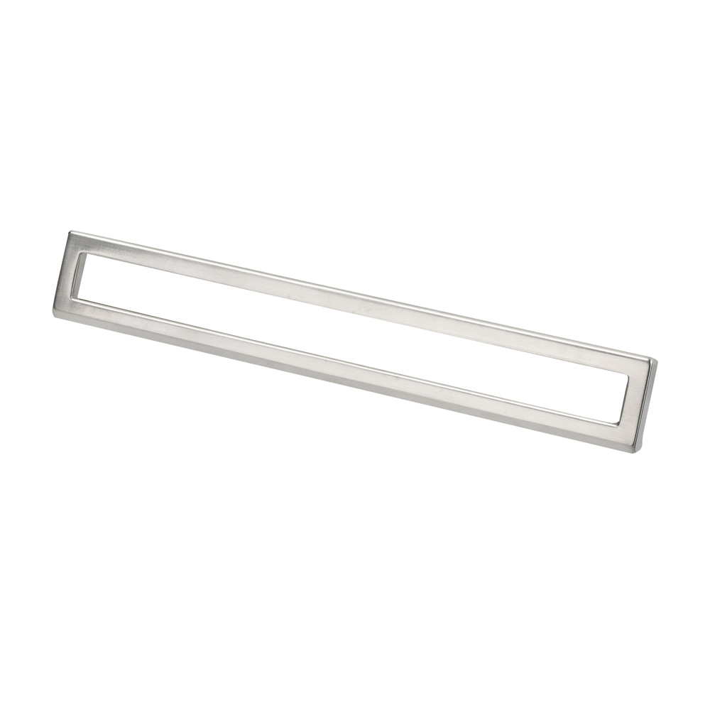 "Topex Hardware 8-102222419234 Bent Rectangular Pull 7.55"" or 8.81"" (C-C) - Satin Nickel"