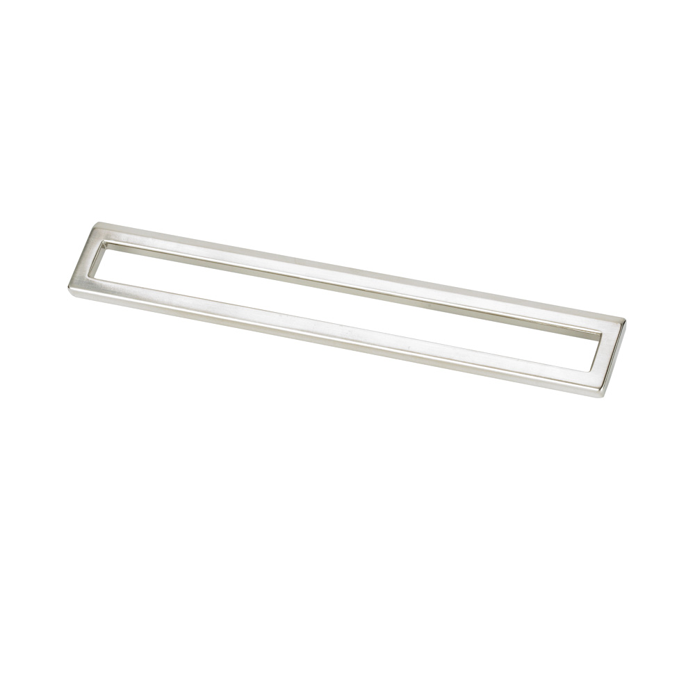 "Topex Hardware 8-102222419240 Bent Rectangular Pull 7.55"" or 8.81"" (C-C) - Chrome"