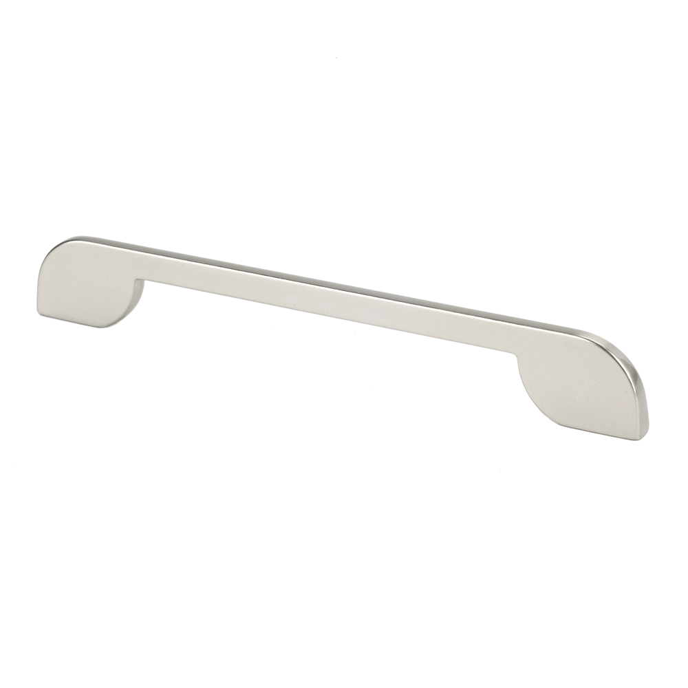 "Topex Hardware 8-108119216035 Thin Modern Pull 6.29"" or 7.55"" (C-C) - Satin Nickel"