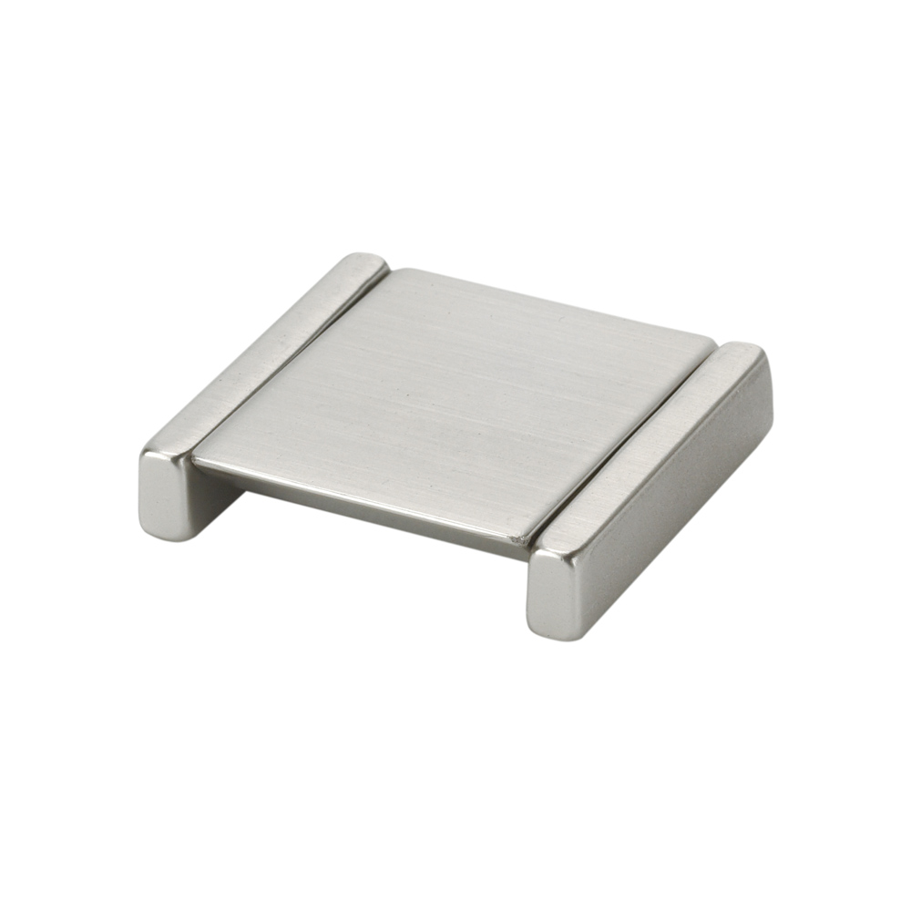 "Topex Hardware 8-1106320034 Small Square Folding Pull 1.25"" (C-C) - Satin Nickel"