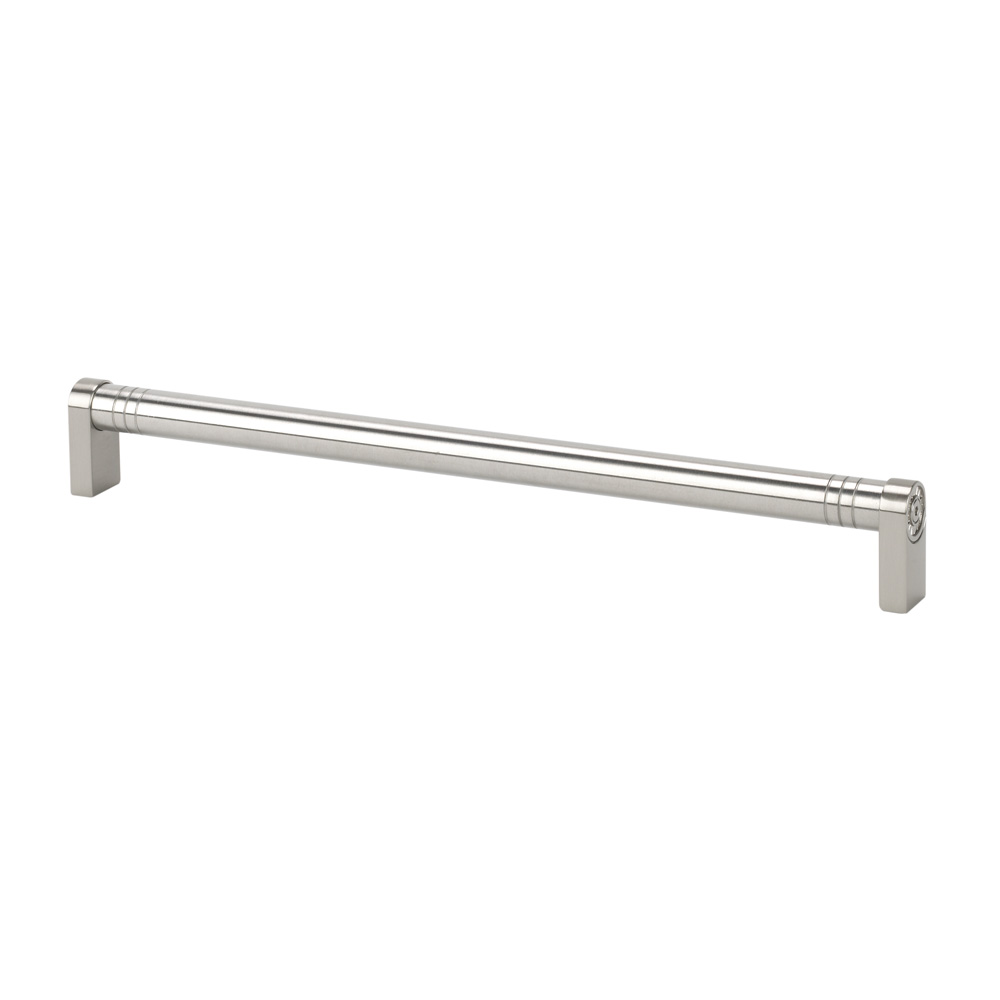"Topex Hardware 8-113803203433 Round Appliance Pull 12.5"" (C-C) - Satin Nickel"