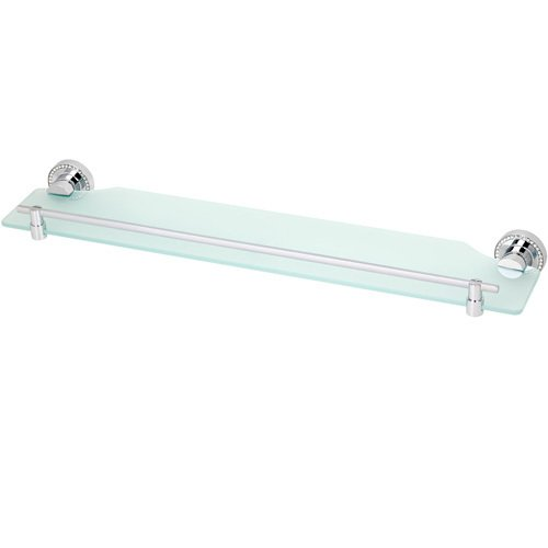 "Topex Hardware A101010401 24"" Shelf with Swarovski Crystals - Chrome"