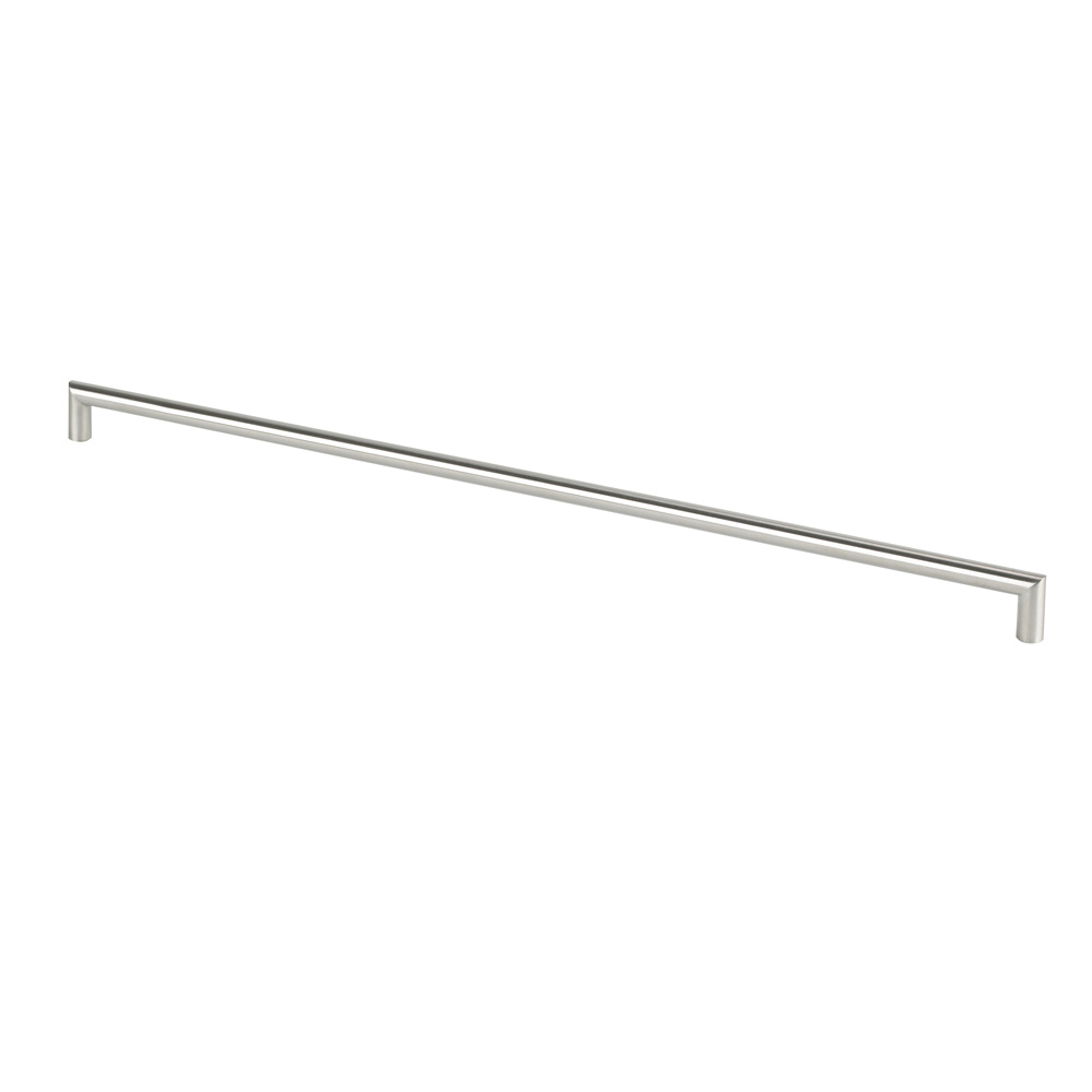 "Topex Hardware FH008242 Round Cabinet Pull 9.5"" (C-C) - Stainless Steel"