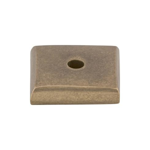 Top Knobs M1446-LB Aspen Square Backplate 7/8 Inch - Light Bronze