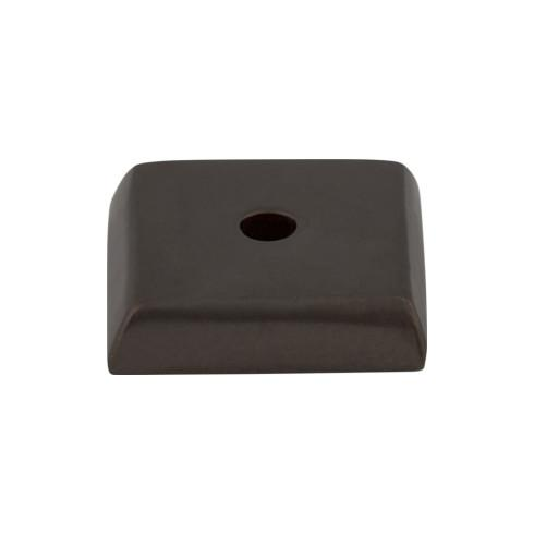 Top Knobs M1447-MB Aspen Square Backplate 7/8 Inch - Medium Bronze