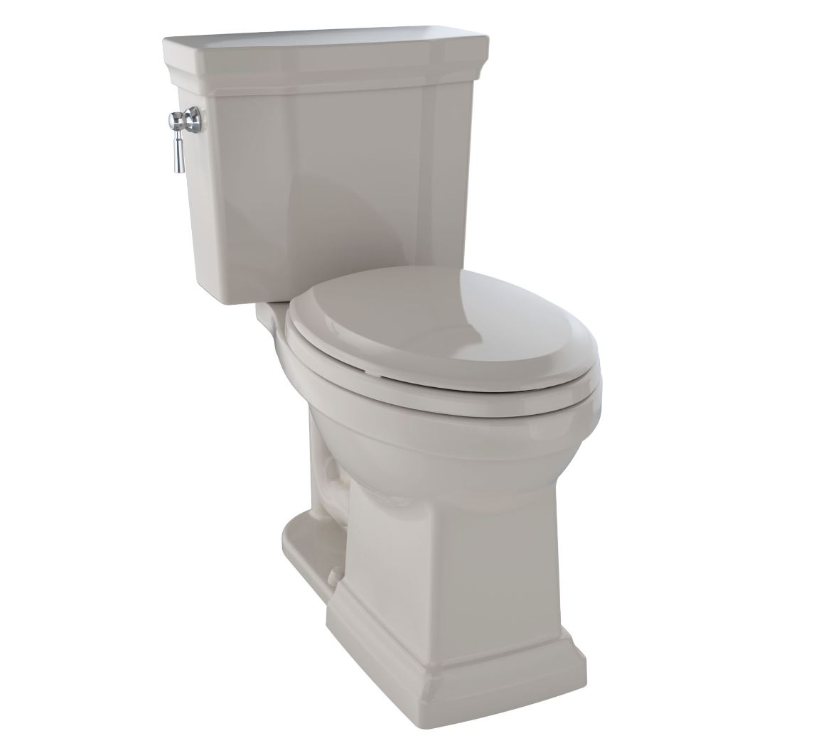 Toto CST404CUFG#03 Promenade II 1G Two-Piece Toilet - 1.0 GPF - Bone