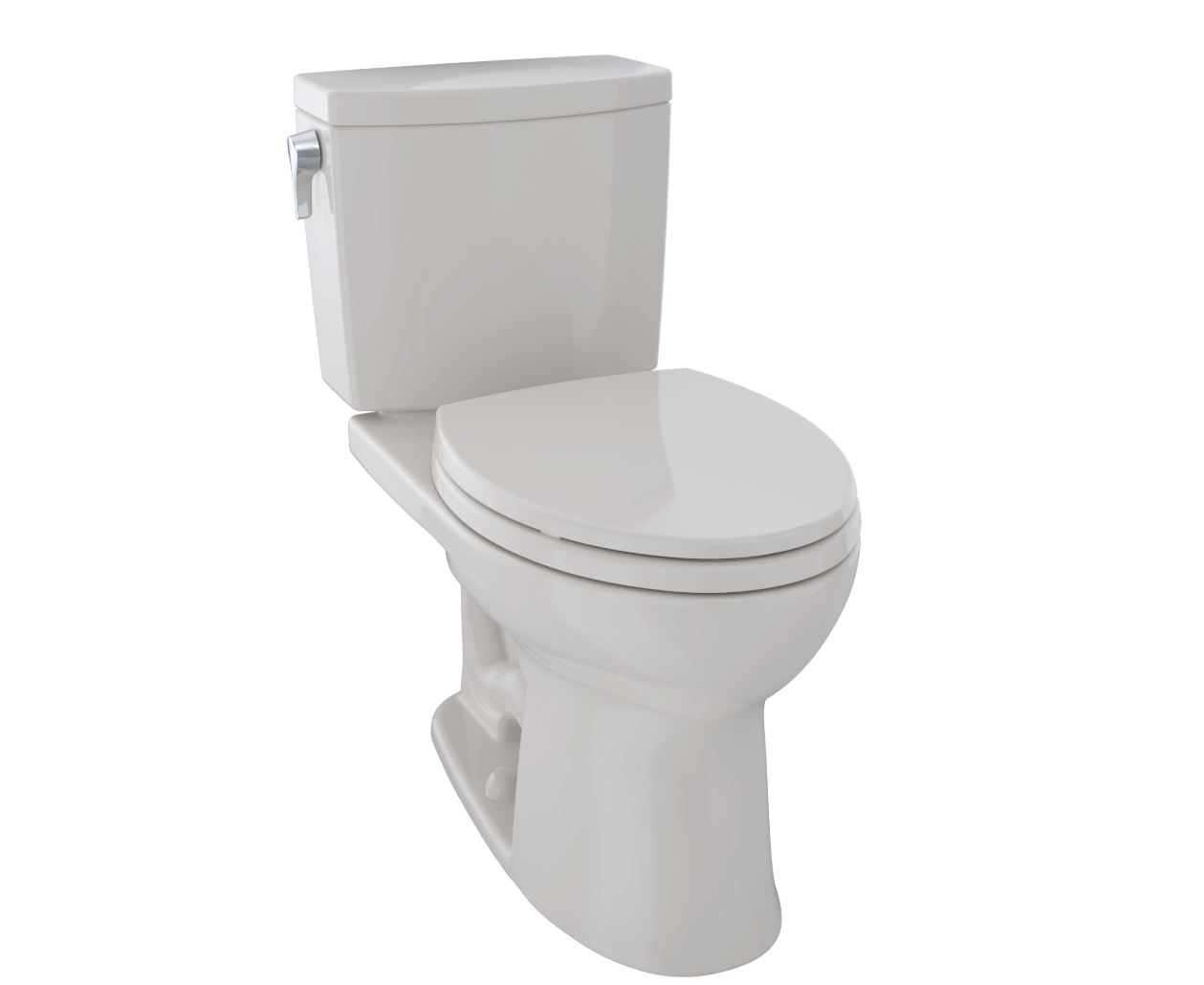 Toto CST454CUFG#12 Drake II 1G Two-Piece Toilet, Elongated Bowl, 1.0 GPF - Sedona Beige