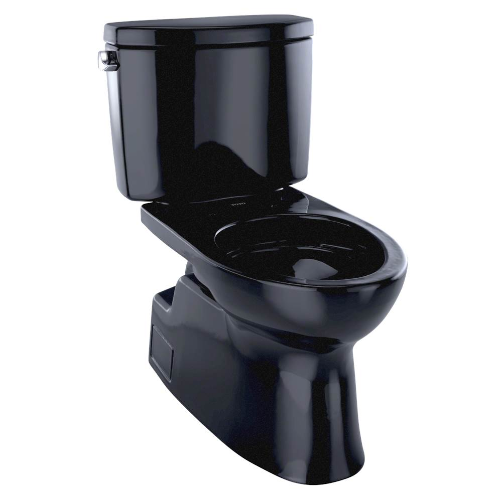 Toto CST474CEF#51 Vespin II Two-Piece Toilet, Elongated Bowl - 1.28 GPF - Ebony