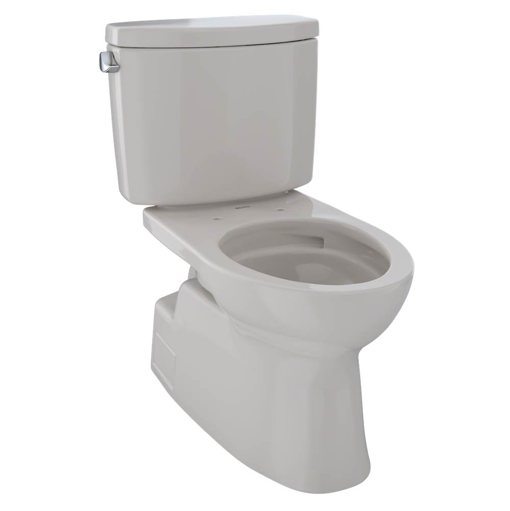 Toto CST474CEFG#12 Vespin II Two-Piece Toilet, Elongated Bowl - 1.28 GPF - Sedona Beige