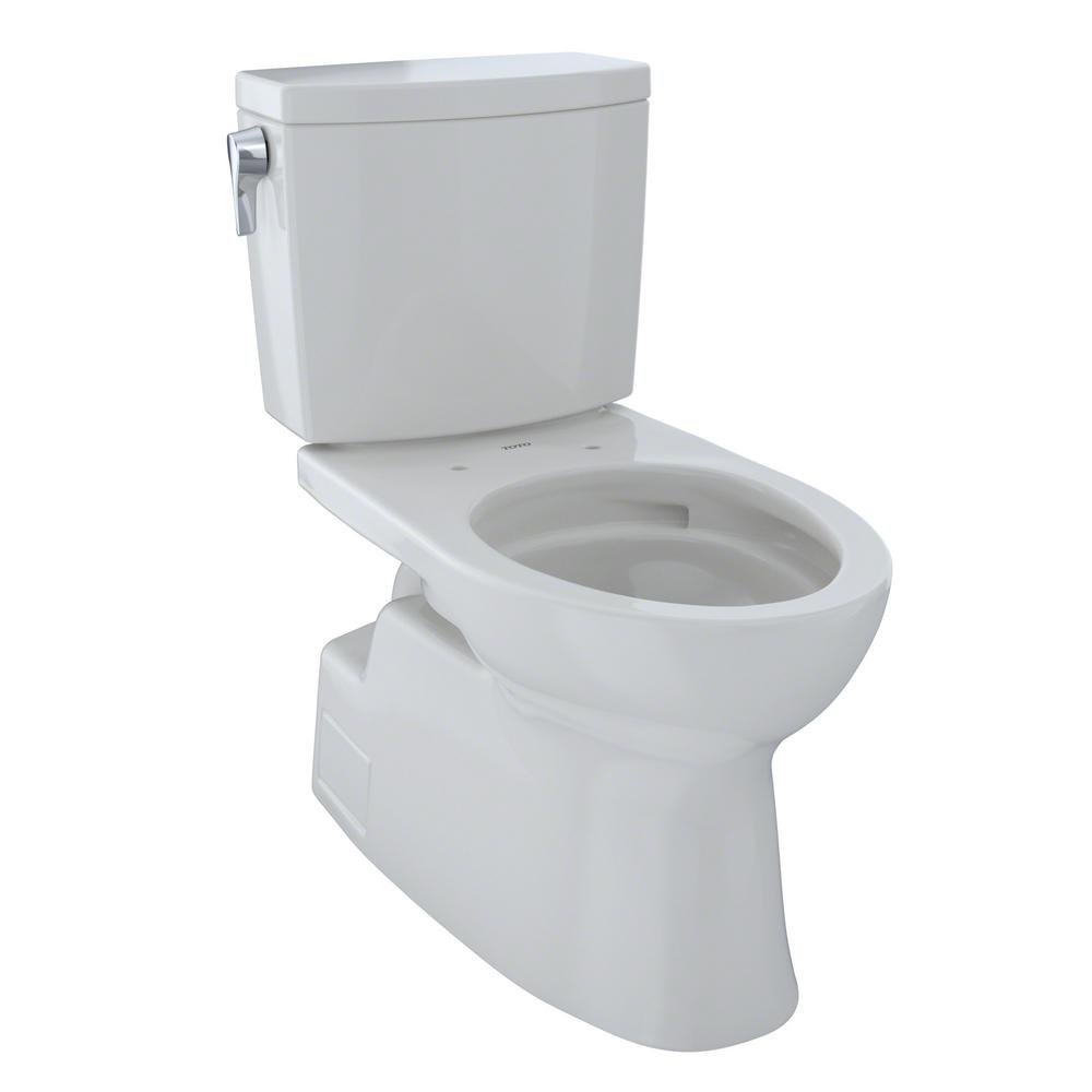Toto CST474CUFG#11 Vespin II 1G Two-Piece Toilet, Elongated Bowl - 1.0 GPF - Colonial White