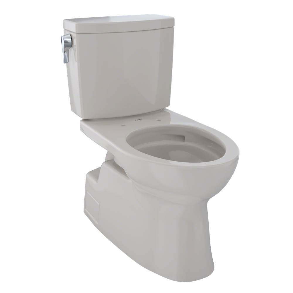 Toto CST474CUFG#12 Vespin II 1G Two-Piece Toilet, Elongated Bowl - 1.0 GPF - Sedona Beige
