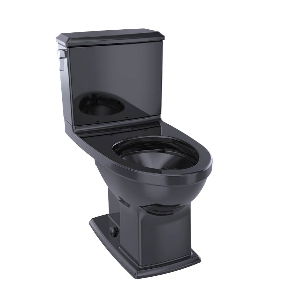 Toto CST494CEMF#51 Connelly Two-Piece Toilet 1.28 GPF & 0.9 GPF, Elongated Bowl - Ebony