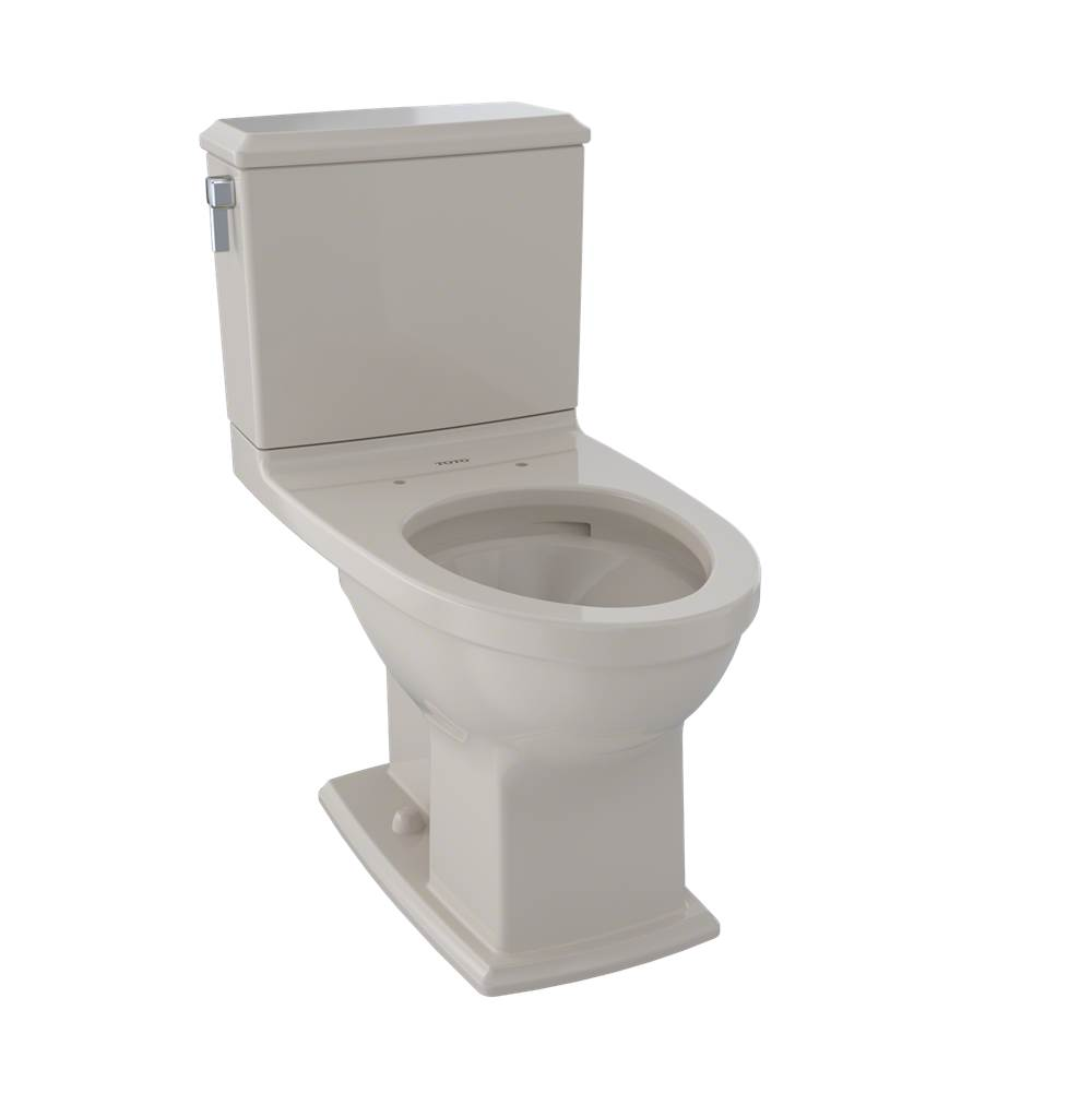 Toto CST494CEMFG#03 Connelly Two-Piece Toilet 1.28 GPF & 0.9 GPF, Elongated Bowl - Bone