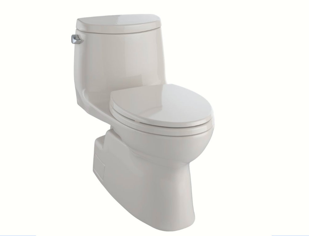 Toto MS614114CEFG#12 Carlyle II One-Piece Toilet, 1.28 GPF, Elongated Bowl - Sedona Beige